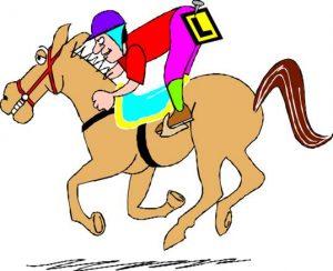 leaner horse